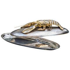 Franco Lagini Silver Plated Lobster Platter