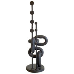 Black Iron Seafaring Art Sculpture, Denmark