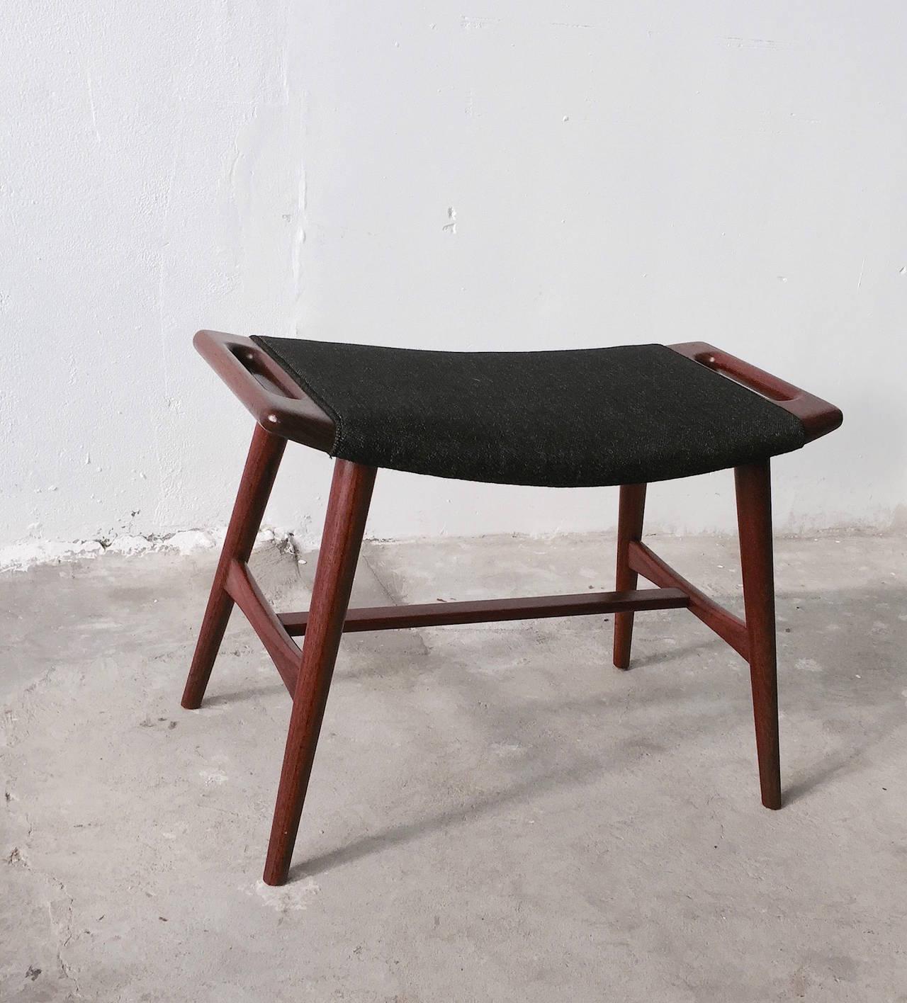 Hans J Wegner Piano Stool Ap 30 Teak For Sale At 1stdibs