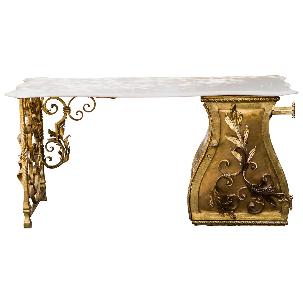 Marvelous Hollywood Regency Style Lady Desk For
