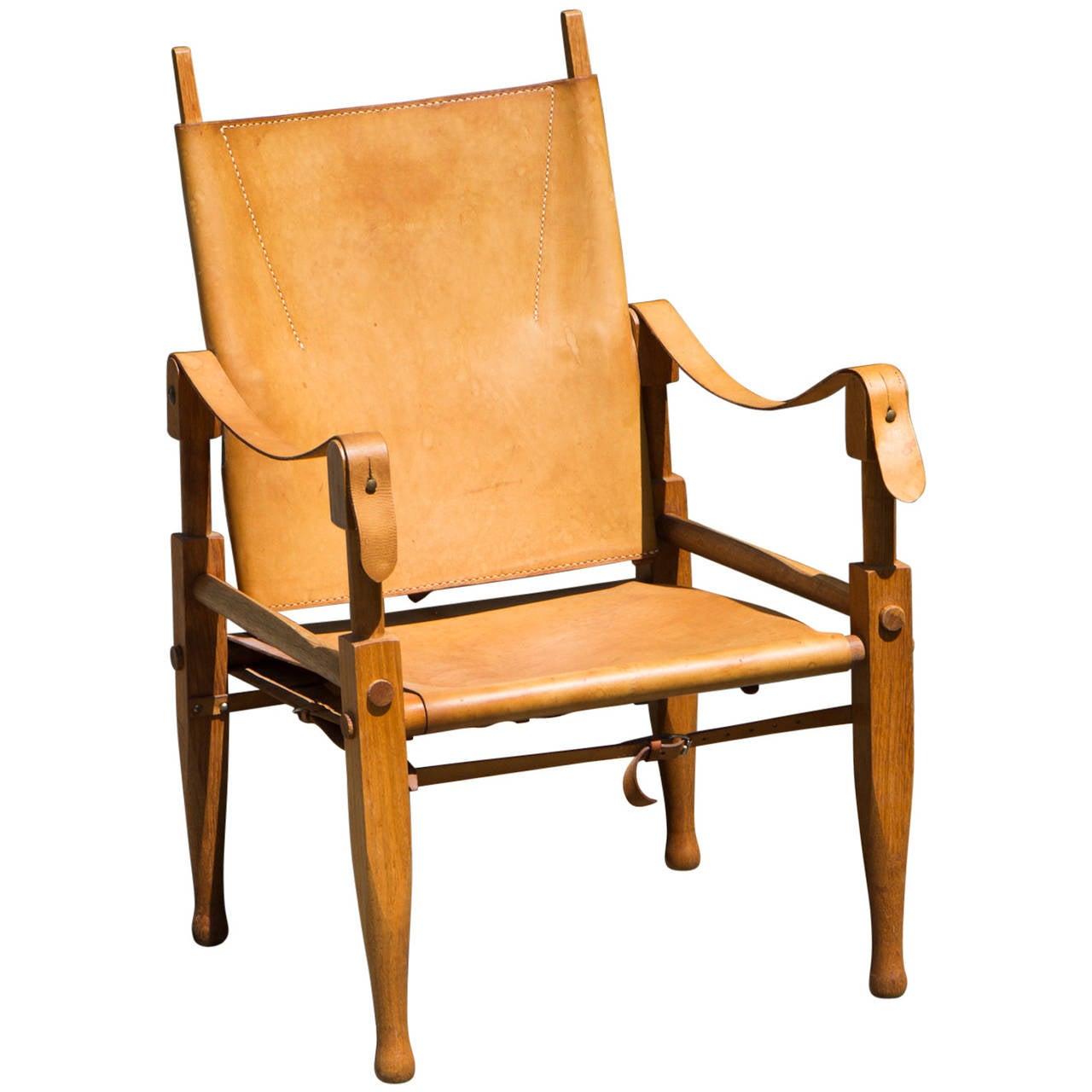 Safari Chair by Wilhelm Kienzle at 1stdibs