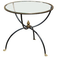 Lion Feet Side Table Attributed to Maison Jansen