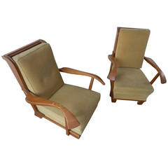 Two Amazing Lounge Chairs