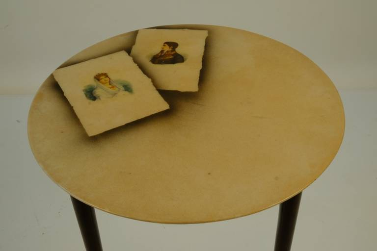 Four Aldo Tura Side Tables For Sale 1