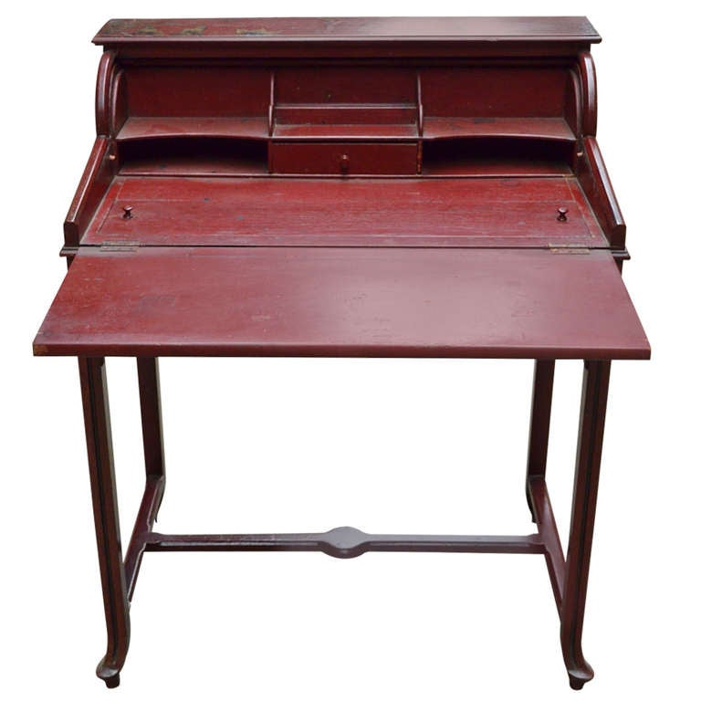 19th Century Chinoiserie Desk At 1stdibs