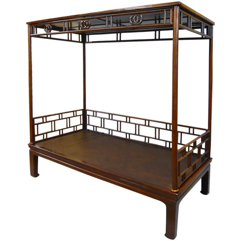 19th Century Chinese Canopy Bed At 1stdibs