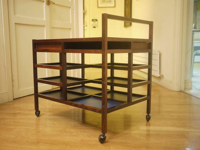 Mid-20th Century Bodil Kjaer Trolley for E. Pedersen & Son For Sale