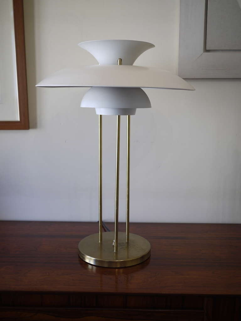 poul henningsen ph5 desk lamp at 1stdibs. Black Bedroom Furniture Sets. Home Design Ideas