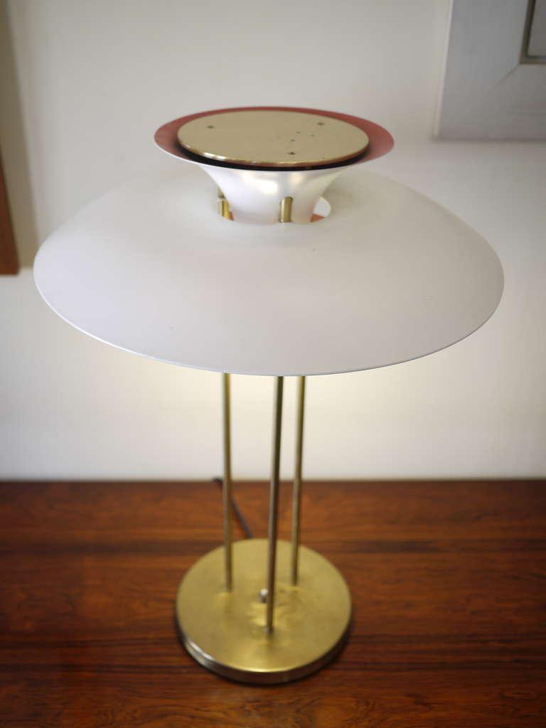 poul henningsen ph5 desk lamp at 1stdibs. Black Bedroom Furniture Sets. Home Design Ideas