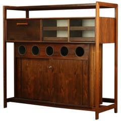 Danish Rosewood Cabinet Bar