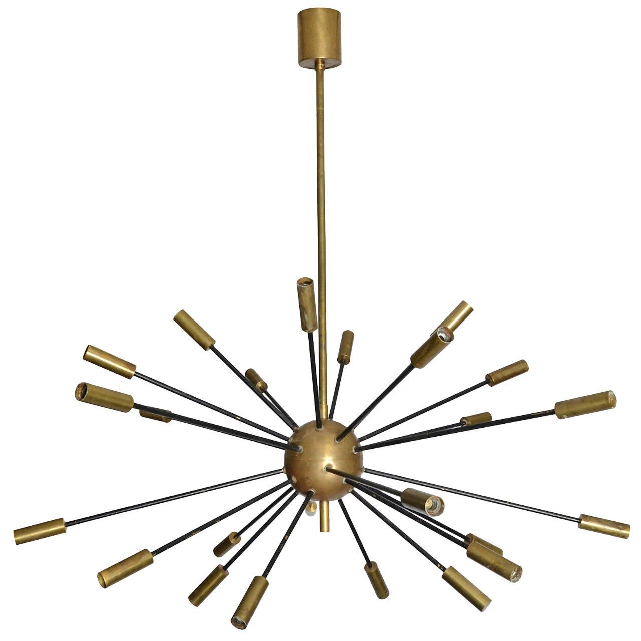 huge stilnovo sputnik chandelier at 1stdibs. Black Bedroom Furniture Sets. Home Design Ideas