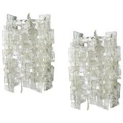 Pair of Carlo Nason Sconces