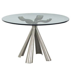 Vittorio Introini Large Dining Table for Saporiti