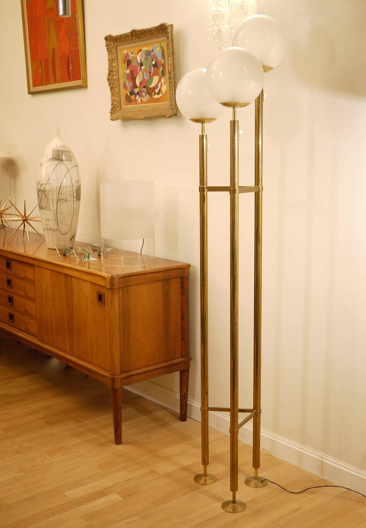 Max Ingrand Floor Lamp for Fontana Arte 8