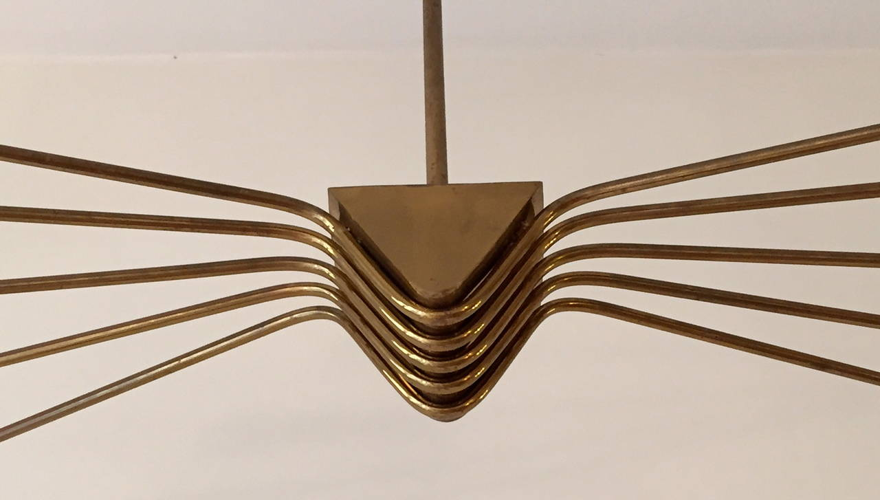 1950 Lumi Ceiling Lamp In Excellent Condition For Sale In Madrid, ES