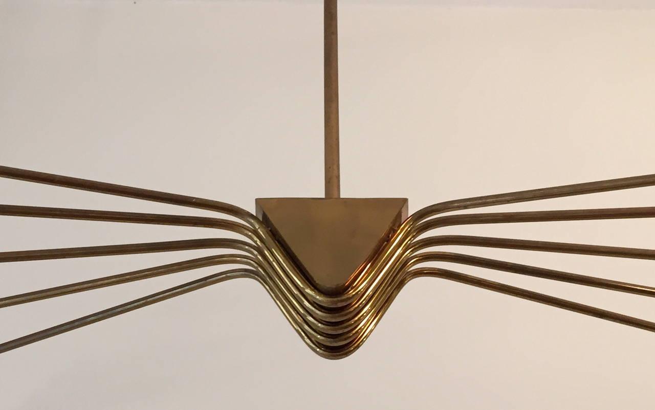 Italian 1950 Lumi Ceiling Lamp For Sale