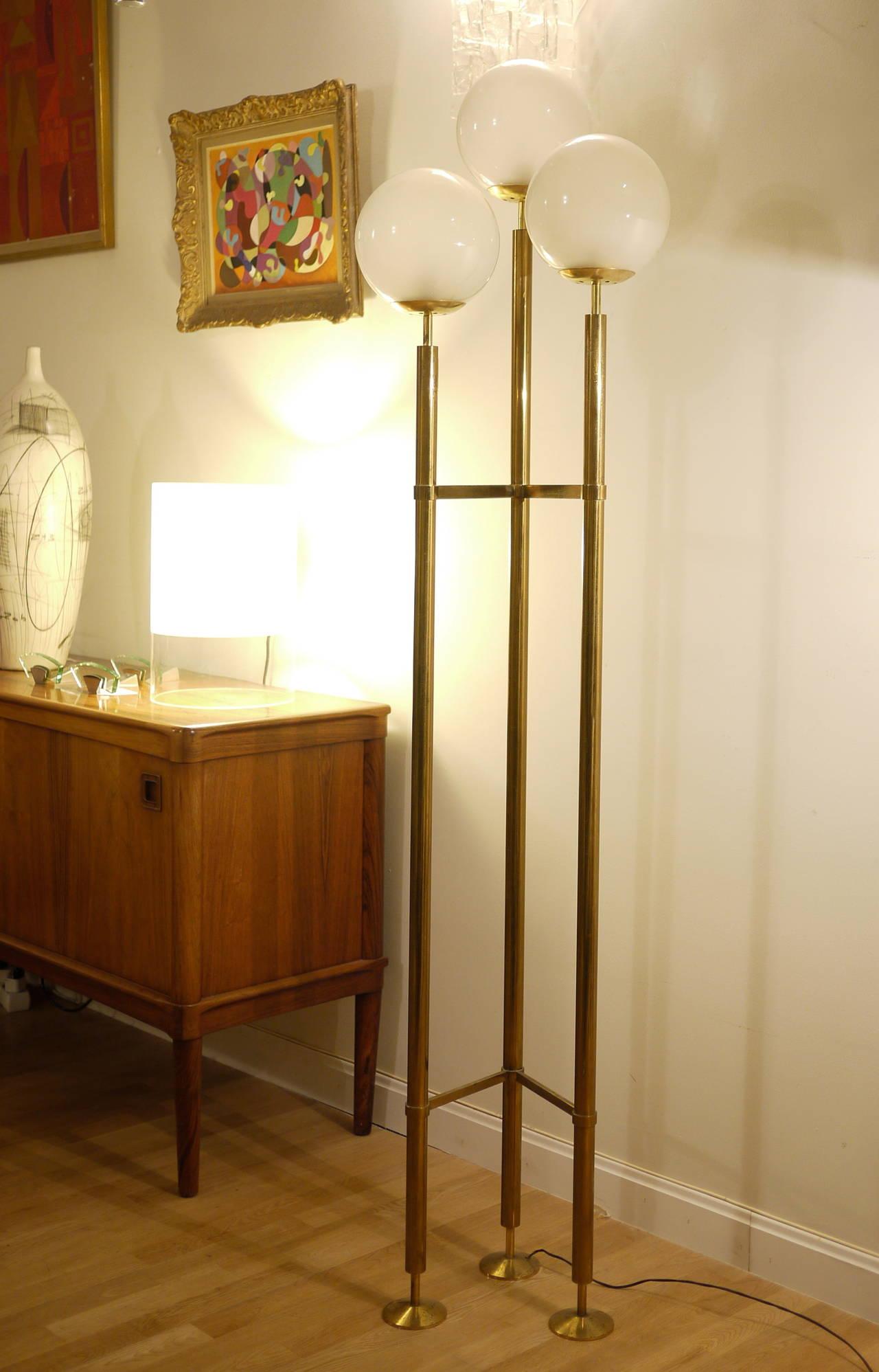 Max Ingrand Floor Lamp for Fontana Arte 10
