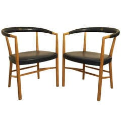 Pair of Jacob Kjaer United Nations Armchairs