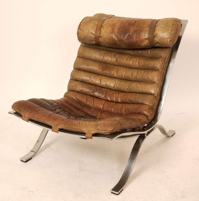 Pair Of Arne Norell Ari Lounge Chairs At 1stdibs