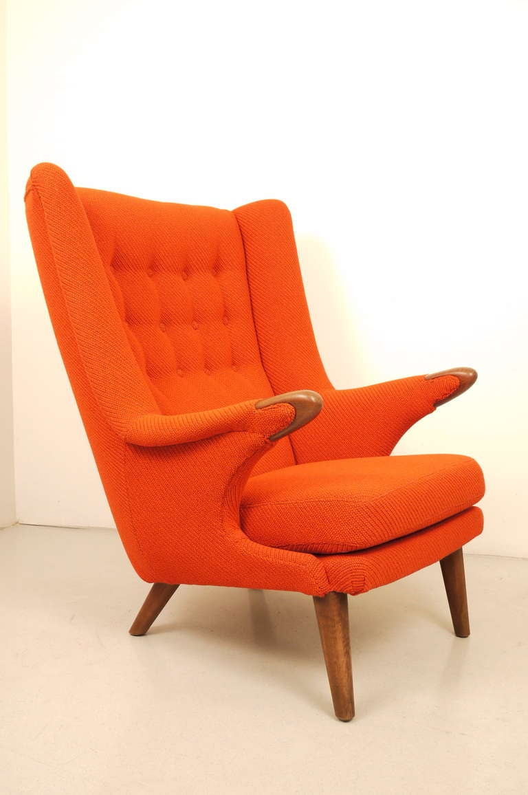 Svend Skipper Wing Chair at 1stdibs