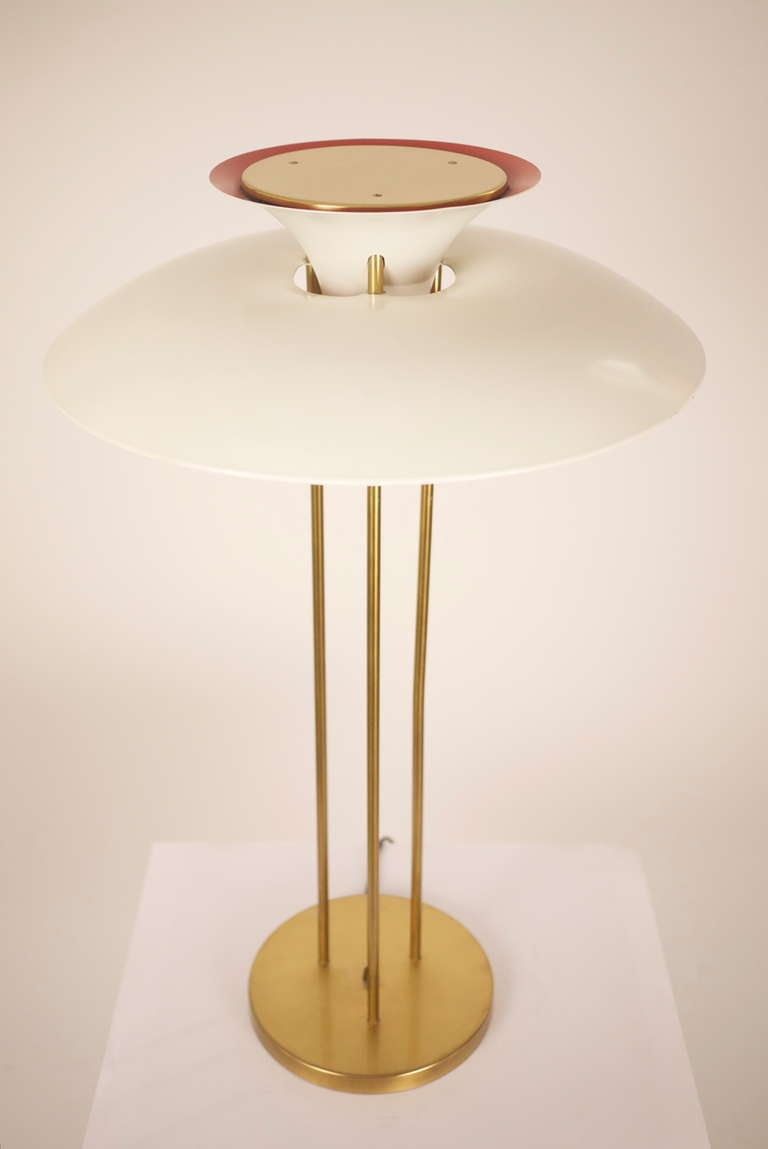 ph5 table lamp by poul henningsen at 1stdibs. Black Bedroom Furniture Sets. Home Design Ideas