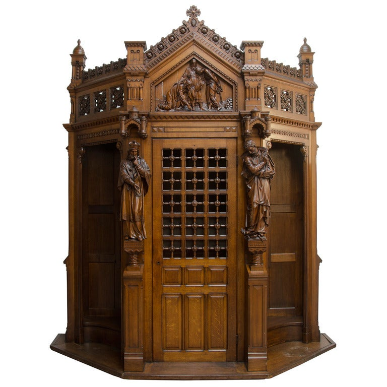 Gothic Confessional At 1stdibs