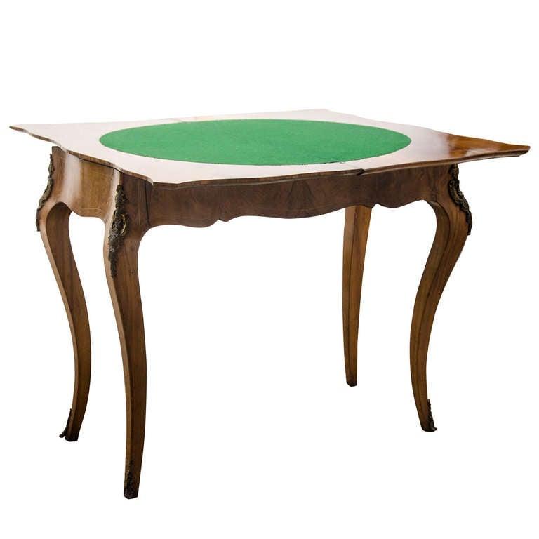 Louis Xv Card Playing Table At 1stdibs