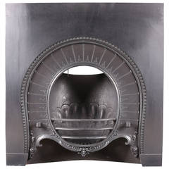 Original Victorian Horseshoe Fireplace Insert