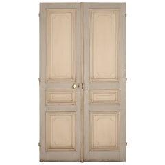 Antique Large Oak Doors in the Louis XVI Manner