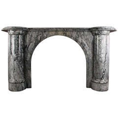 Grand Arched Victorian Chimneypiece