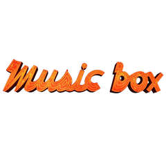 """Music Box"" Neon Marquee, circa 1960"