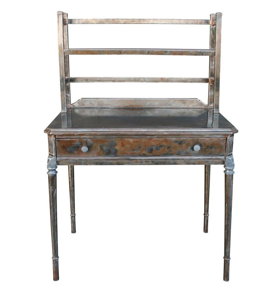Metal Writing Desk By Simmons Circa 1928 At 1stdibs