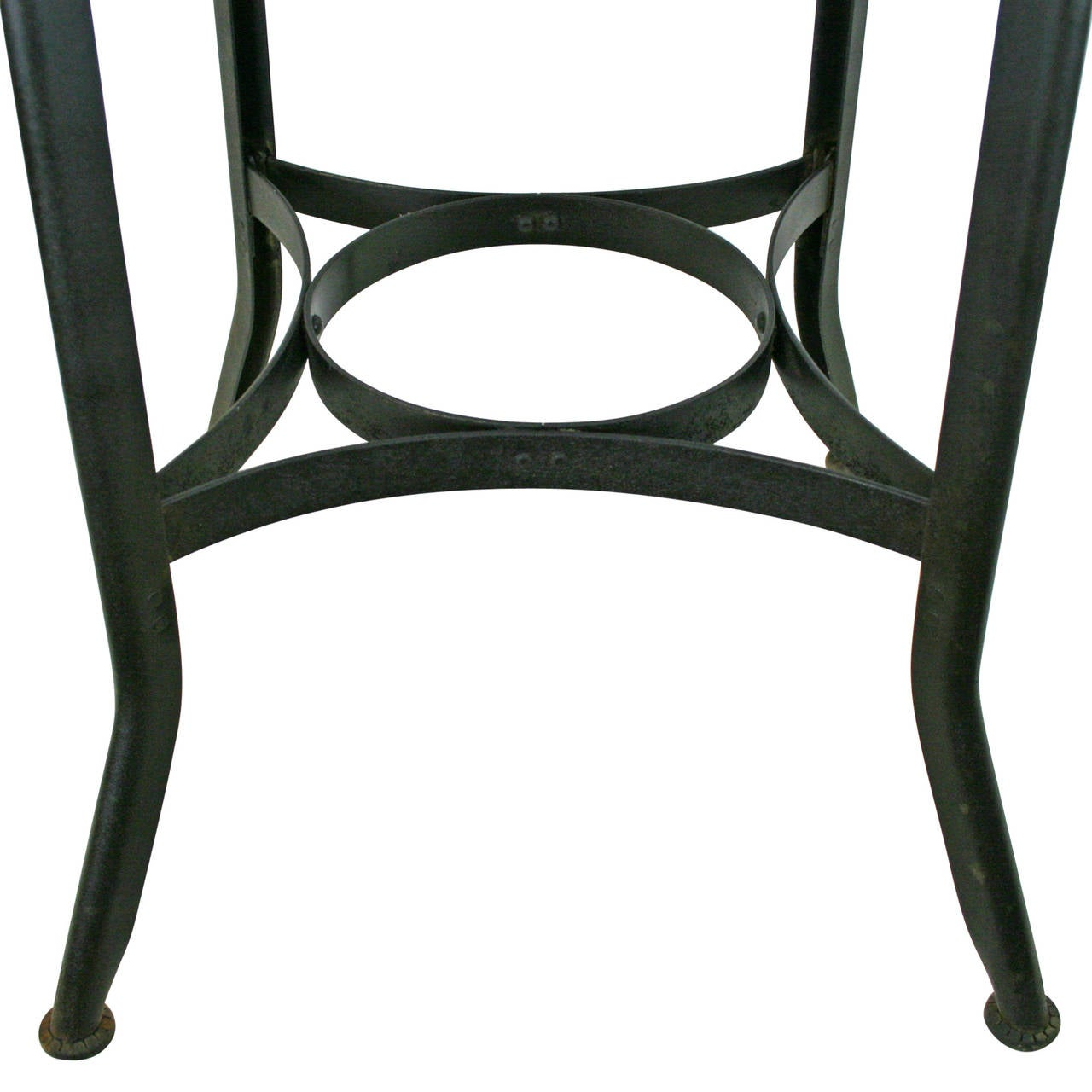 Unique Toledo Cafe Stool With Chrome Plated Seat Circa