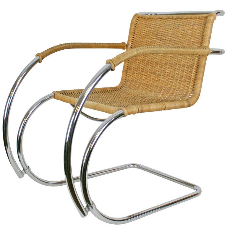 this mies van der rohe caned lounge chair is no longer available