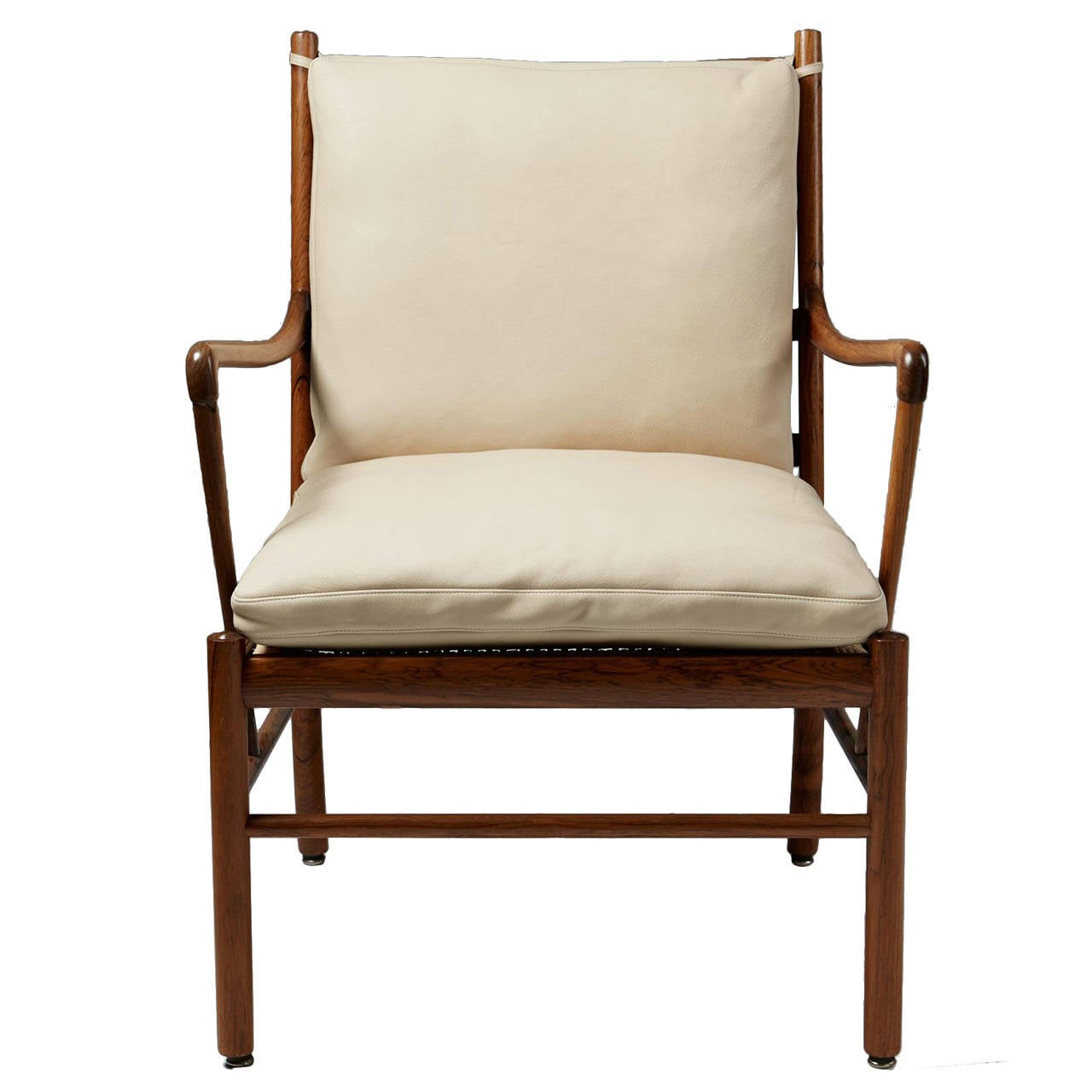 Armchair colonial designed by ole wanscher for p jeppesen for P jeppesen furniture