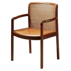 Armchair Designed by Wilhelm Lauritzen, Denmark, 1980s