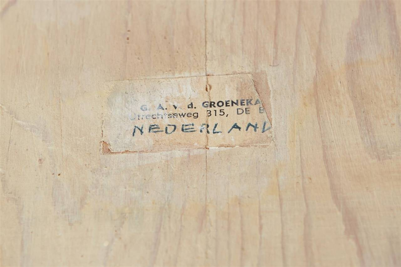 Zig Zag Chair Designed by Gerrit Rietveld for G.A. van de Groenekan, Holland 4
