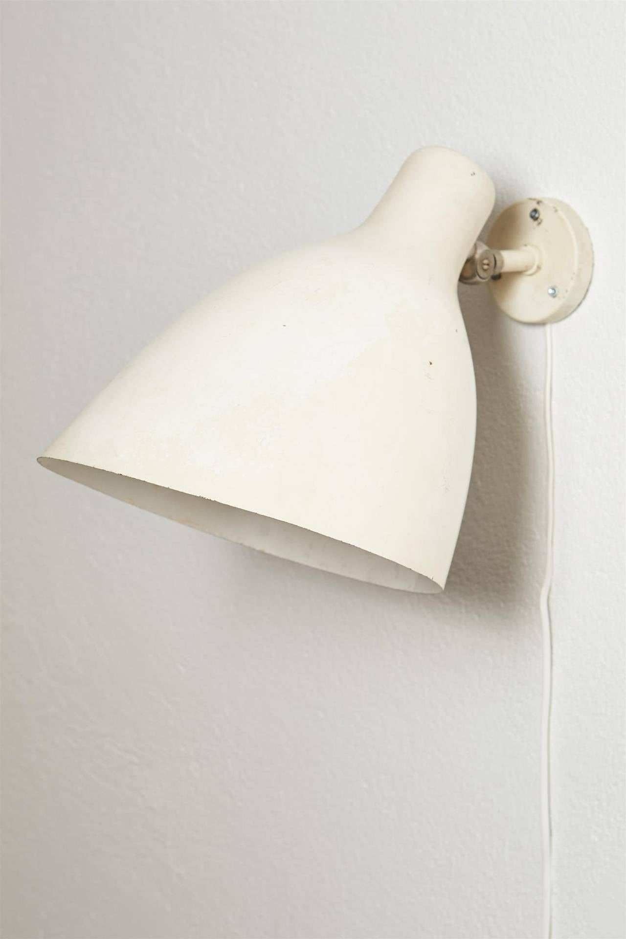 Pair of floor lamps produced by falkenbergs belysning ab in sweden at - Wall Lamp Designed By Erik Gunnar Asplund Sweden 1930s 3