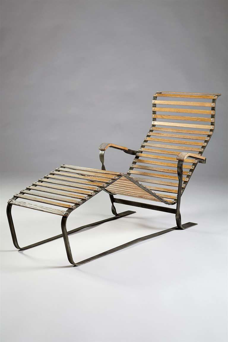 chaise longue designed by marcel breuer switzerland 1930s for sale at 1stdibs. Black Bedroom Furniture Sets. Home Design Ideas