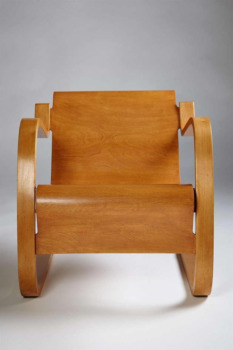Armchair Designed By Alvar Aalto For Artek Finland