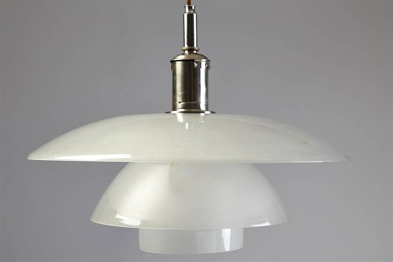 ph 5 5 designed by poul henningsen for louis poulsen denmark 1930s at 1stdibs. Black Bedroom Furniture Sets. Home Design Ideas