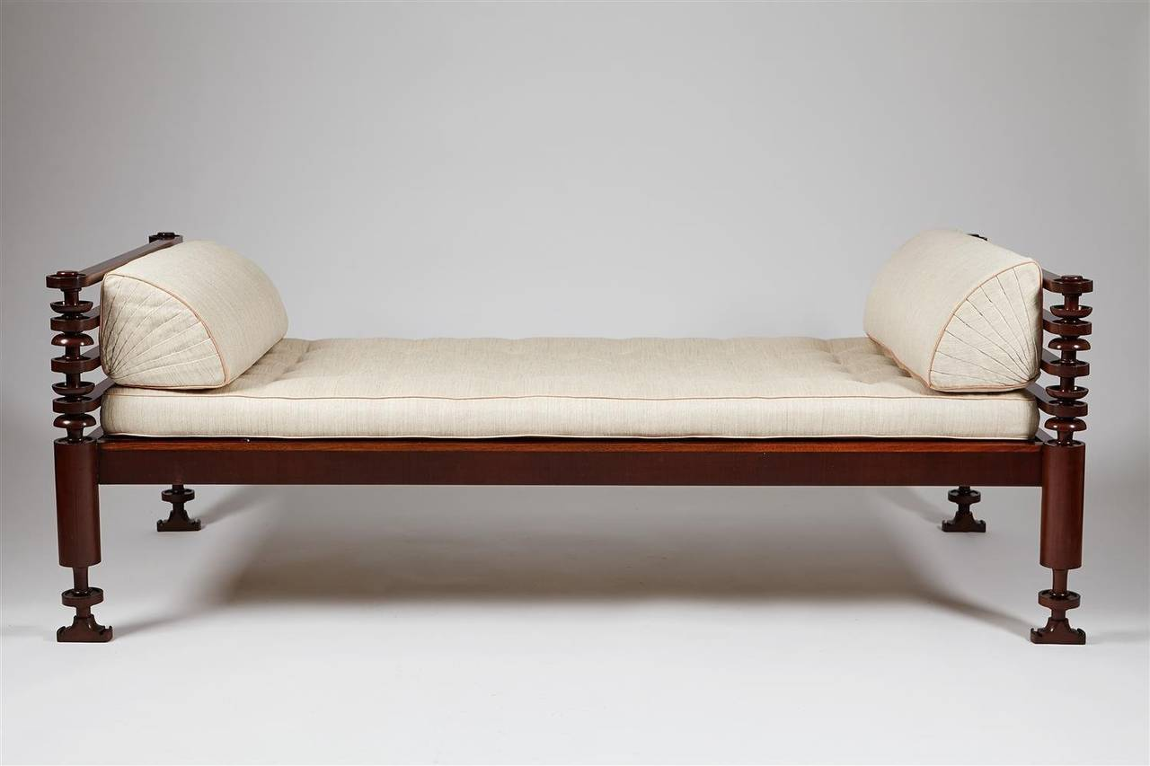 Daybed Designed by Kaare Klint for NM Rasmussen, Denmark, 1917 2