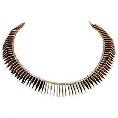 Necklace designed by Bent Knudsen, Denmark 1960s