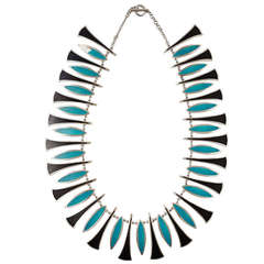 Necklace designed by Poul Warmind, Denmark 1950s
