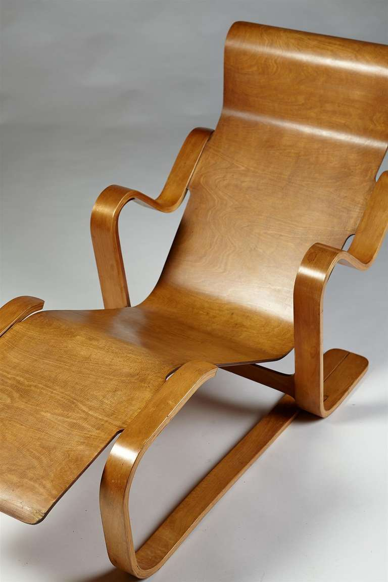 Long chair. Designed by Marcel Breuer for Isokon, England. 1936. at 1stdibs