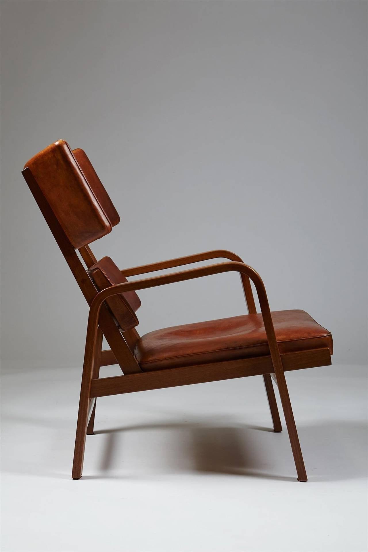 Armchairs Designed By Magnus Stephensen Denmark 1963 For