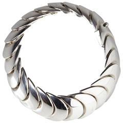 Sterling Silver Bracelet for Hans Hansen's Eft., Denmark, 1980s