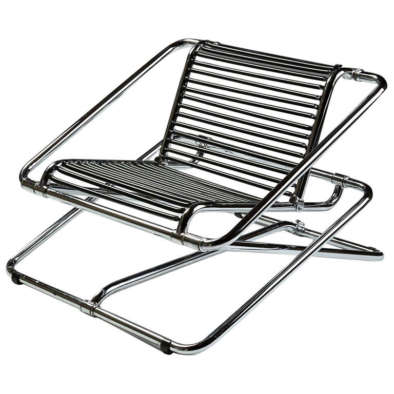 rocking chair designed by ron arad for one off at 1stdibs. Black Bedroom Furniture Sets. Home Design Ideas