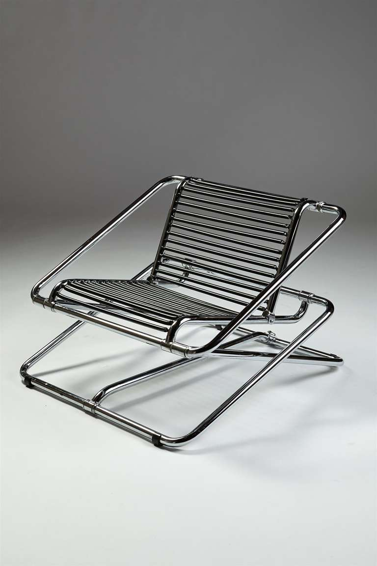 Rocking Chair Designed By Ron Arad For One Off For Sale At