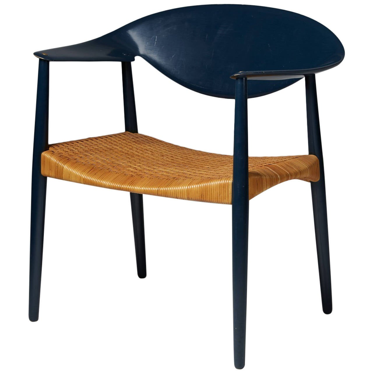 """""""Metropolitan"""" Chair by Aksel Bender Madsen and Ejner Larsen for Willy Beck"""